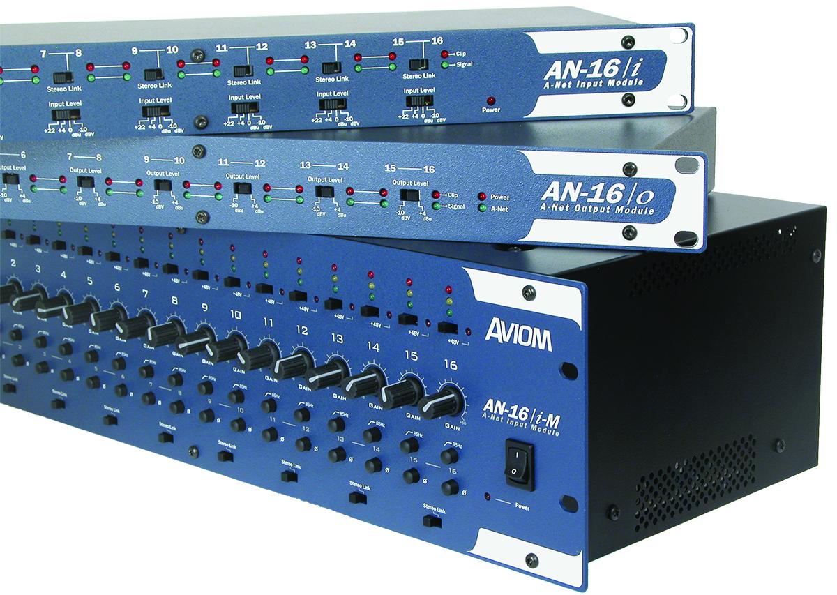 Press Room Press Release Aviom Introduces New Pro16