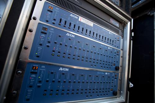 Aviom Applications Audio Networks Installations