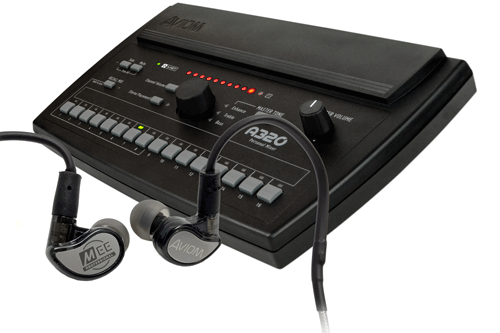 Aviom Products | Mixing Systems: Mix320-Y Personal Mixing System