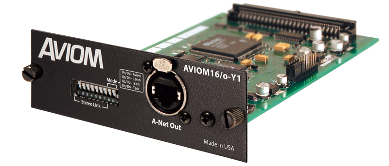 Aviom16/o-Y1 A-Net Card