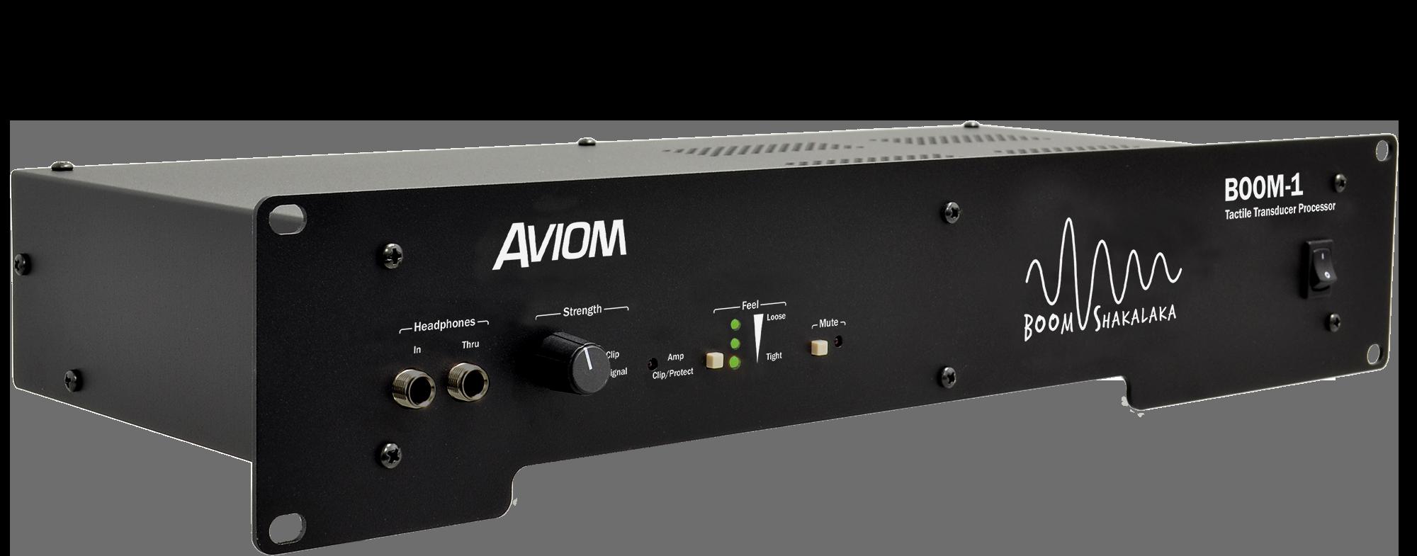 Aviom Products Boom 1 Tactile Transducer Processor