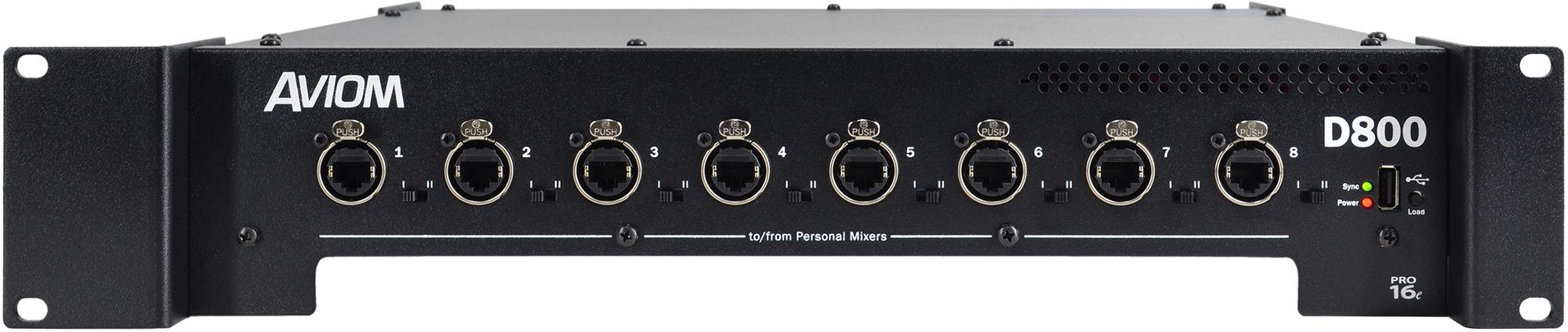 Aviom Products D800 Amp D800 Dante A Net Distributors