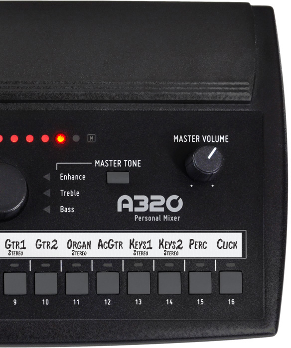 Aviom Products - A320 Personal Mixer