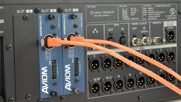 Aviom Products Digital I O And Console Cards Aviom16 O