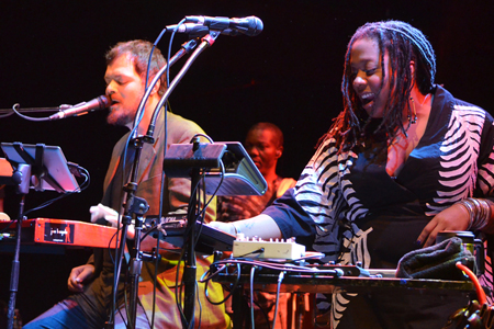 Crystal Monee Hall and Joe Bagale from The Mickey Hart Band Talk About Reverb