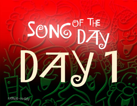 "Day 1: Frank Sinatra's ""Santa Claus is Coming to Town"""
