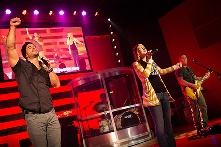 Next Level Church Has Grown Its Aviom System as It Has Moved from a Portable Church to a Multi-Site Ministry